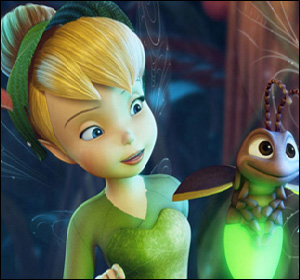 Tinkerbell spot the differences
