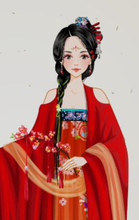 Nine Songs - Chinese dress up game