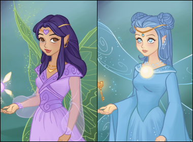 Fairy of Secrets Dress up game