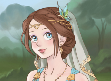 Princess Hairstyles Dress up Game