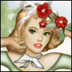 Posy Pin-up